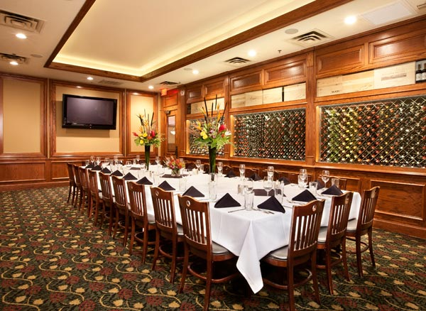 Private Dining And Banquet Halls Kirby S Steakhouse